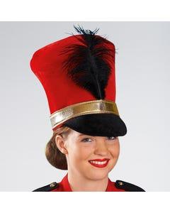 Red Soft Soldier Hat