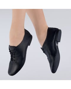 1st Position Leather Jazz Shoes