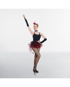 Frilled Layered Tutu Skirt