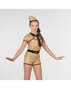 1st Position Sequinned GI Costume with Hat
