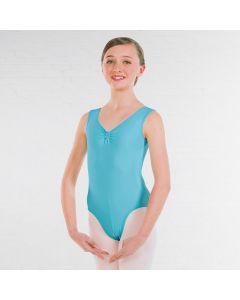 ISTD Ballet ruche lined leotard Grade 1-4