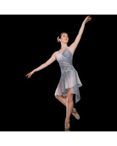 Artstone Meltdown Asymmetric Hem Lyrical Dress