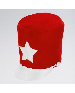Red Soft Majorette Hat