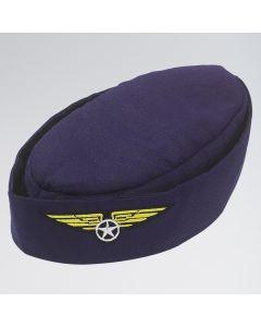 Navy Blue Stewardess Hat