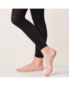 Silky Footless Ballet Tights
