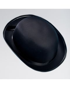 Satin Look Bowler Hat
