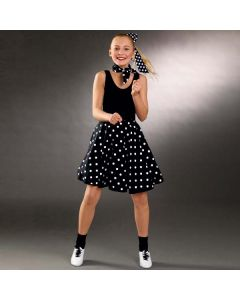 Adult Polka Dot Skirt (Adjustable Waist)