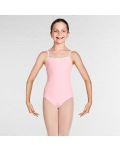 Bloch Lucille Gelato Braid Cut Out Back Camisole Leotard