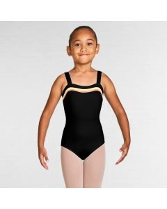 Bloch Teagan Gelato Stripe Sweetheart Neckline Wide Strap Leotard