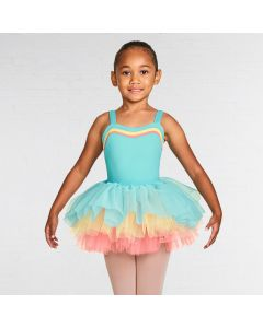 Bloch Lenora Three Colour Contrast Tutu Skirt