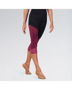 Bloch Colour Panelled Capri Leggings