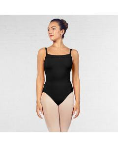 Bloch Scoop Neckline Ladder Trim Camisole Leotard