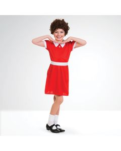 Little Orphan Girl Dress with Wig