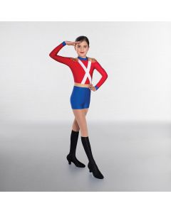1st Position Nutcracker Soldier Unitard