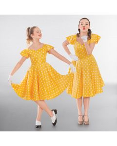 1st Position Polka Dot Swing Dress
