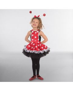 1st Position Polka Dot Pinafore Dress