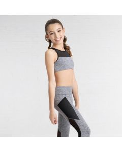 Capezio High Neck Bra Top-Tween