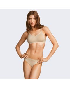 Capezio Seamless Clear Back Bra