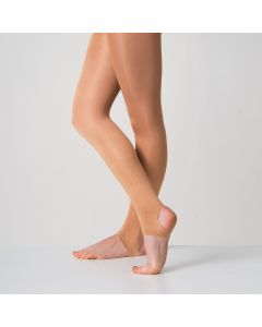 Silky Dance Shimmer Stirrup Tights
