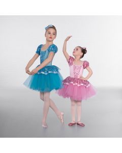 1st Position Floral Sequin Princess Ballet Dress