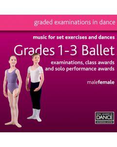RAD Grades 1-3 Ballet CD