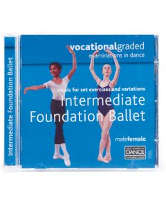 RAD Vocational Intermediate Foundation Ballet CD