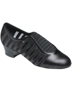 Supadance Slip On Teaching And Practice Leather/Mesh Shoe