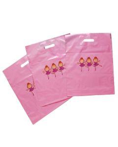 Large Carrier Bags Little Ballerinas Pk 50