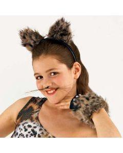 Fur Animal Ears on Headband