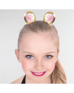 Mouse Ears Sequin Hair Clips