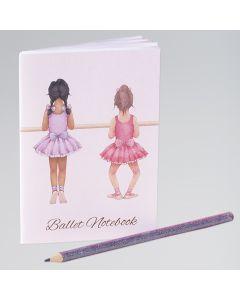 Little Ballerina Mini Notebook (Barre)
