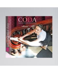 CODA Ballet Class Music for Advanced Dancers CD