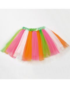 Neon Multi Coloured Tutu Skirt