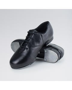 1st Position Leather Jazz Tap Shoes