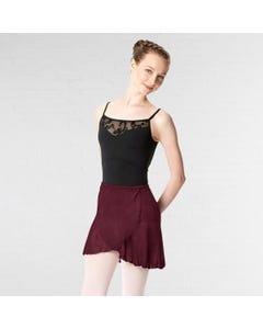 Lulli Classic Wrap Chiffon Ballet Skirt Roxy