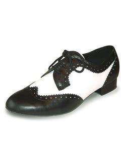 Roch Valley Ritz Derby Style Mens Ballroom Leather Shoe 1.2 inch Heel