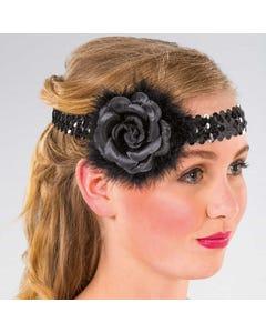 Flapper Flower Headdress