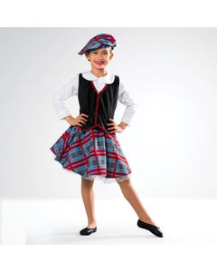 Scotswoman Outfit (Top, Skirt, Hat)