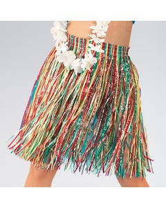 Hawaiian Grass Skirt (Child One Size) Length 41cm