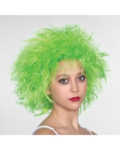 Fairy Wig Neon Green