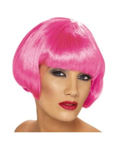 Babe Wig Flo Pink