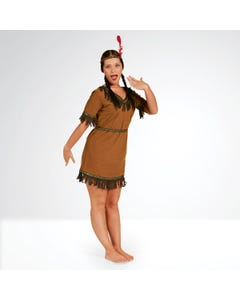 Native American Costume Adult One Size
